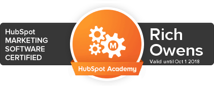 First Five Eight HubSpot Marketing Software Certified